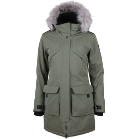 North Bend Nordic Parka Mujer, green utility